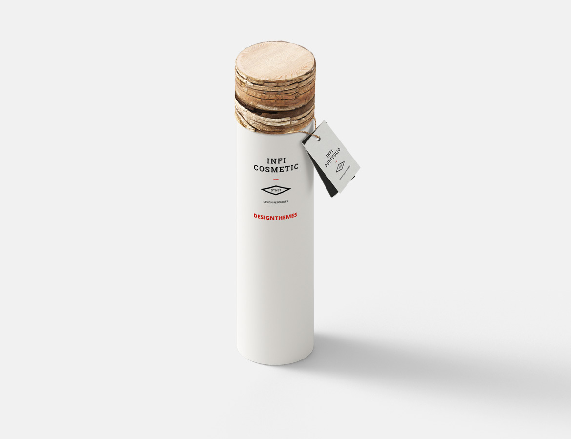 Canister with cork lid