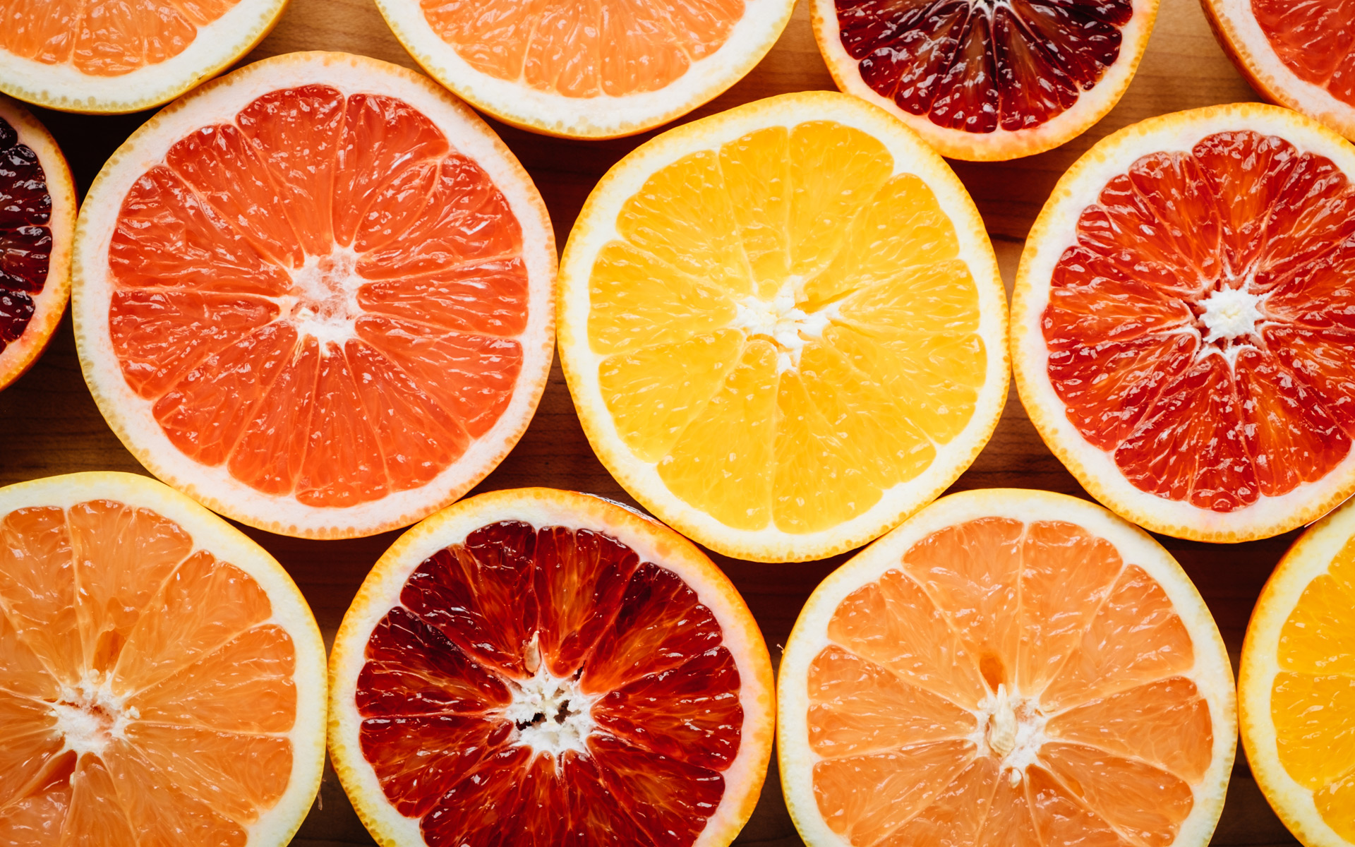 Citrus cross section